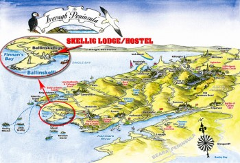 map_skellig_lodge_ring_of_kerry